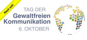 Logo Tag der Gewaltfreien Kommunikation Mach mit!