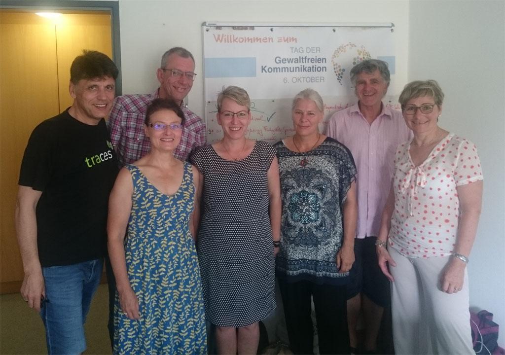 GFK-Aktivisten in Stuttgart
